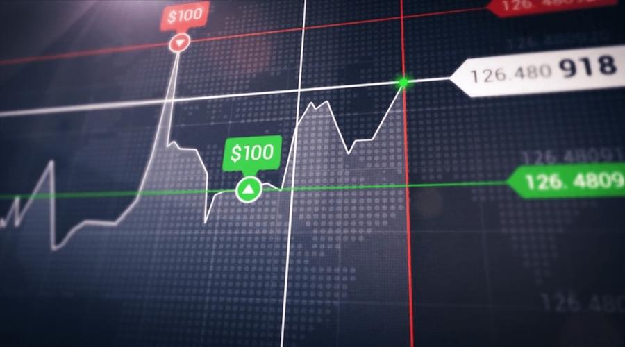 illustration cours de bourse options binaires